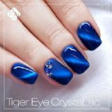 Tiger eye crystalac gel polish